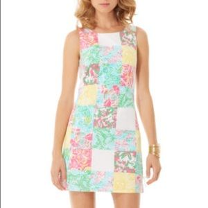 Lilly Pulitzer Delia Shift Dress Patch size 2